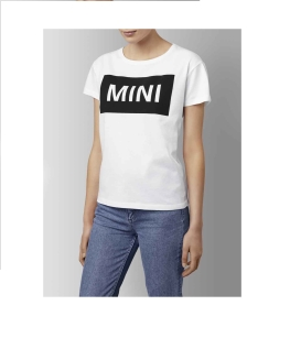 T-Shirt MINI Wordmark Damski